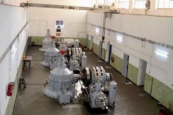 Siirt Botan Barajı elektrik üretmeye devam ediyor