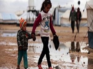 Suriyeli sığınmacıların soğukla zor savaşı