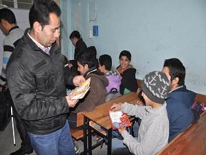 Reyhanlı'da eğitim gören 750 Suriyeli öğrenci karne aldı