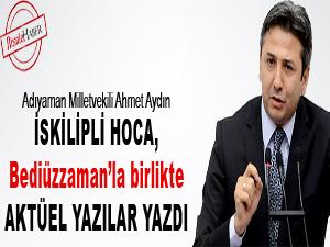 İskilipli Hoca, Bediüzzaman'la birlikte yazı yazdı
