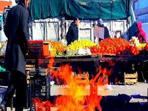 Meyve ve sebzelere sobalı koruma