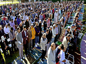 Müslümanlar duaya çıktı, California yağmura doydu