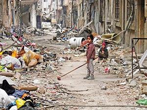 BM: Esed çocukları canlı kalkan yapıyor