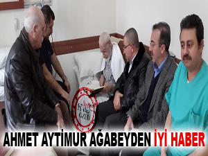 Ahmet Aytimur ağabeyden iyi haber