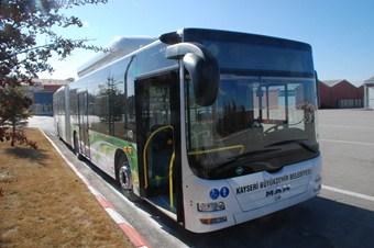 Şehir içi ulaşımı için yeni otobüsler alındı