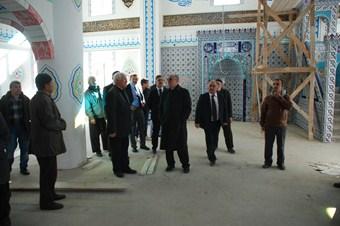 600 kişilik camiyi imece ile usulü ile bitirdiler