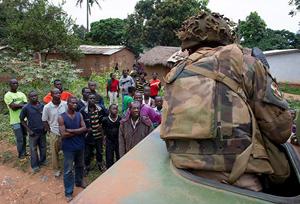 Müslümanlar, Orta Afrika Cumhuriyeti başkentinden kaçıyor