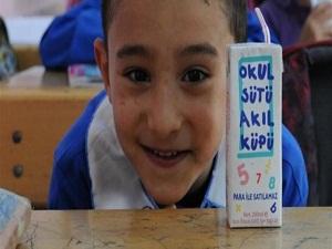 Okul sütü programı başlıyor