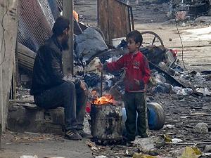 Humus'ta ateşkes bir gün sürdü