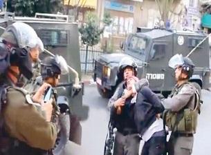 İsrail zulmünün fotoğrafı