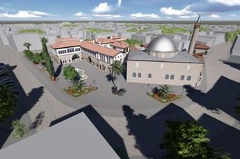 Anadolu'nun ilk camisinde çevre düzenlemesi yapılıyor