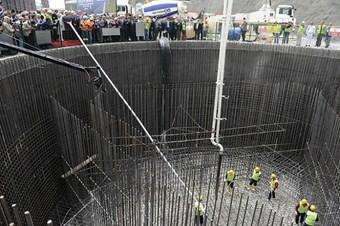 3. Boğaz Köprüsü'nün temelleri tamamlandı