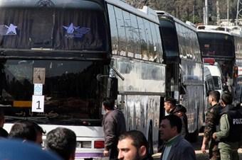 Humus'tan bin 400'e yakın kişi tahliye edildi