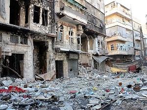 Halep artık harabe bir kent