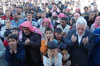 Suriyeliler Türkiye için yağmur duasına çıktı