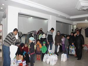 Köprü Yardımlaşma Derneği'nden Suriyeli sığınmacılara yardım