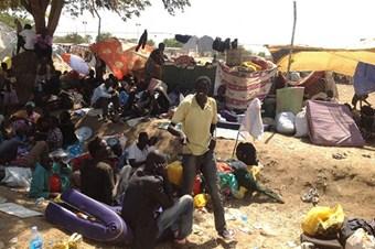 Sudan'a mülteci akını