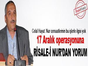 17 Aralık operasyonuna Risale-i Nur'dan yorum