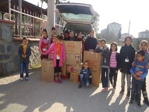 Kocaeli'den Suriye'ye Yardım Kolileri Gönderildi