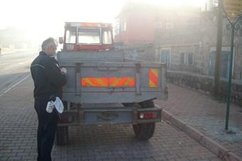 Trafik güvenliği için 5 bin traktöre reflektör