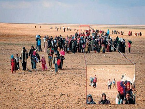 Dünya, bu minik Suriyeli mülteciyi konuşuyor