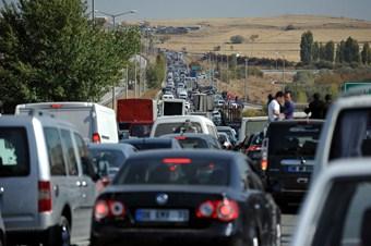 Trafikteki 18 milyona yakın araç var