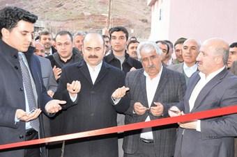 Erkek Kur'an kursu, taziye ve imam evinin açılışı yapıldı