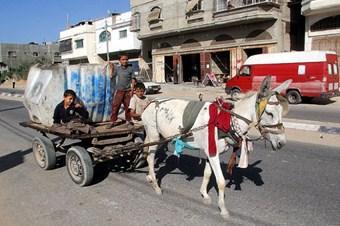 Gazze ekonomisi ambargo nedeniyle çöktü