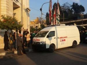 Türkiye'den Lübnan'a ambulans desteği