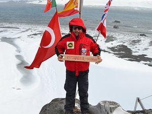 Antarktika'ya giden ilk Türk bilim adamı