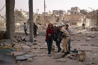 Esed yine varil bombasıyla saldırdı: 12 ölü