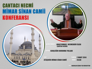 Çantacı Necmi abi İstanbul konferansı