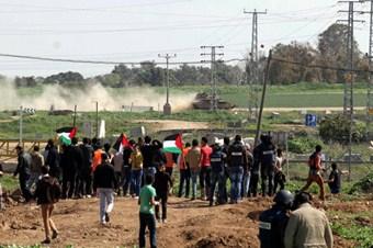 Filistinliler ile İsrail askerleri arasında çatışma