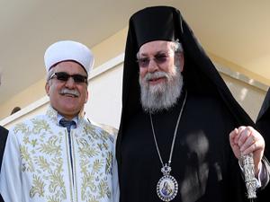 Kıbrıslı dinî liderler barış için buluştu