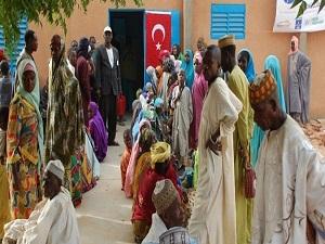 TİKA'dan Nijer'e insani yardım