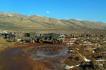 Lübnan-İsrail sınırında şiddetli patlama