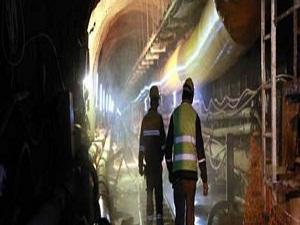 32 km'lik tünel inşaatında son durum