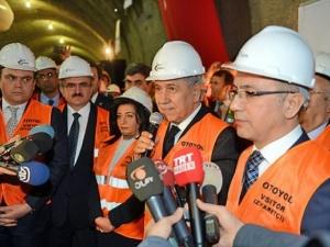 Tünellerin 2 yılda bitmesi muazzam bir başarı