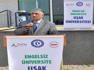 Uşak Üniversitesi engelsiz üniversite yolunda bir adım daha attı