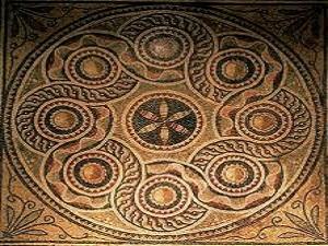 Zeugma'nın mozaikleri ABD'de zemin süsü