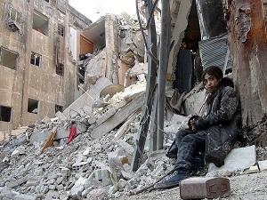 Yermuk'taki açlığı Times Meydanı'na taşıyorlar