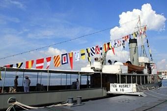 Nusret mayın gemisi 99 yıl sonra aynı rotada