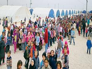 Suriyeli çocukların eğitim sevinci