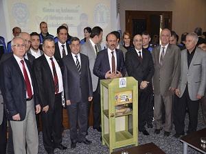 İskenderun'da 'Askıda Ekmek Projesi' başlatıldı
