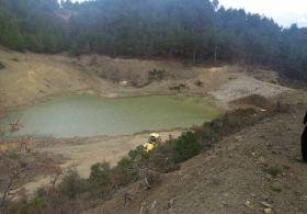Gölet Yapıldı Ama Su Tutamıyor