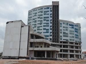 Yüzde 85'i tamamlanan yeni Mevlana Hastanesi Eylül'de hizmete açılacak