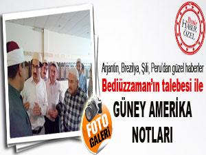 Hüsnü Bayram Ağabey'in Güney Amerika ziyareti