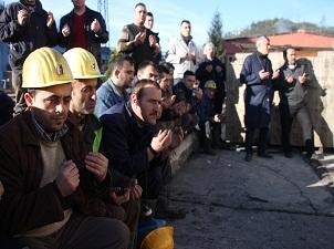 31 yıl önceki grizu faciasında ölen 103 madenci dualarla anıldı