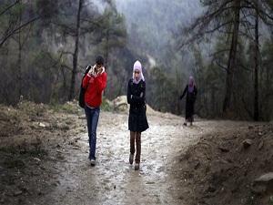 Suriyeli ailenin zorlu kaçışı