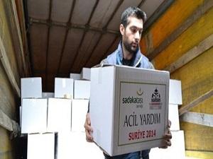 Suriyelilere Sadakataşı